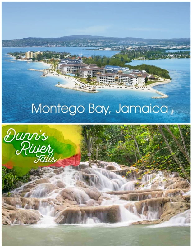 From Montego Bay Hotels on North Course HWY - Dunn's River Falls ( Round Trip)