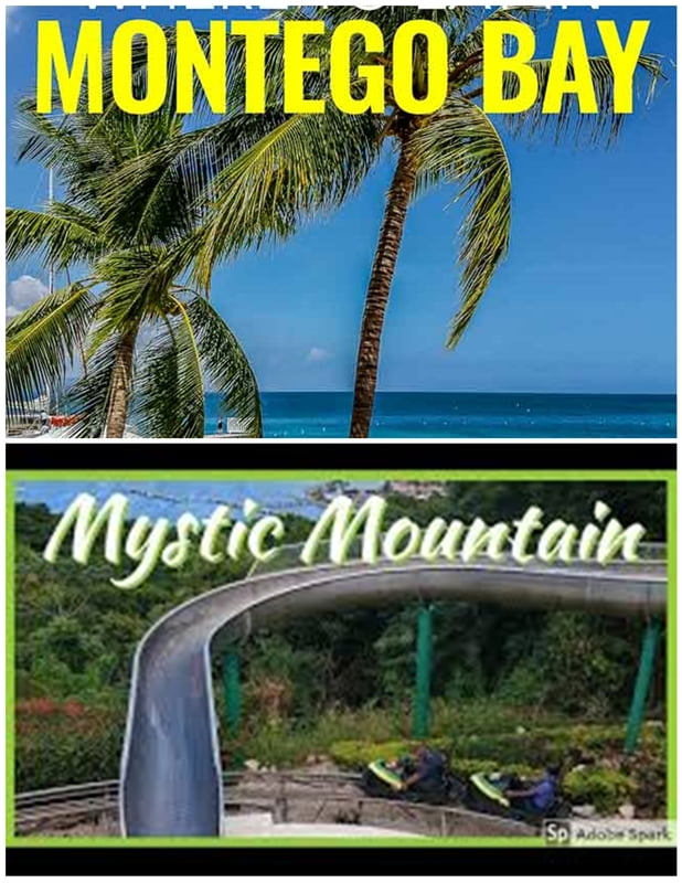 From Montego bay North Course Hwy Area - Mystic Mountain ( Round Trip)