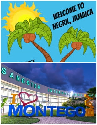 Negril Town - Donald Sangster's International ( Montego Bay)