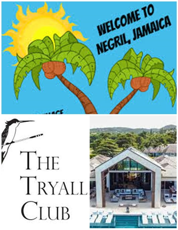 From Negril Centre - The Tryall Club ( Round Trip)