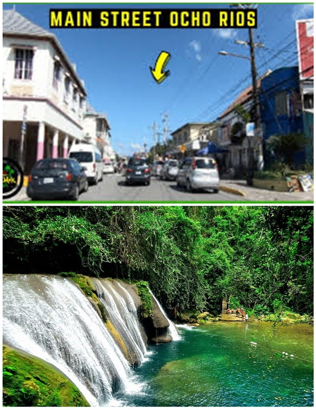 From Ocho Rios Main Street Area - Reach Falls ( Round trip)